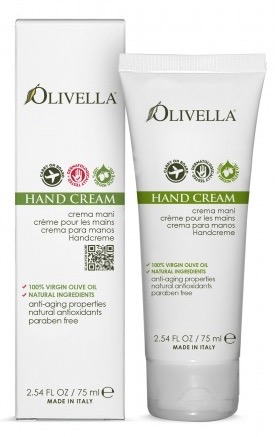 Olivella Hand Cream from Extra Virgin Olive Oil  2 54 Oz
